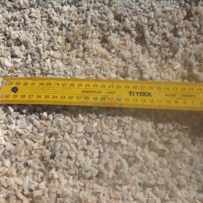 Крошка мраморная мелкая розовая фракция 3-5мм
