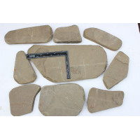 Галтованный камень Песчаник серо-зеленый