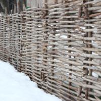 Декоративный забор (плетень)