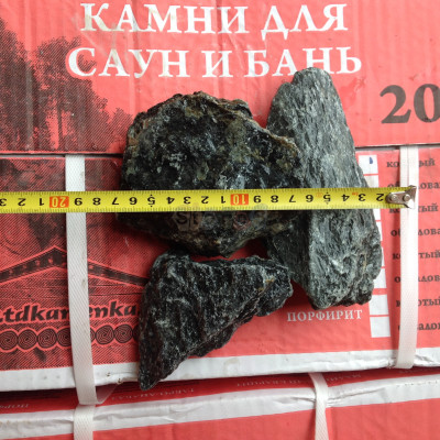 Камень для бани Талькохлорит колотый Карелия