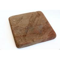 Брусчатка из Песчаника Терракотовая Галтованная
