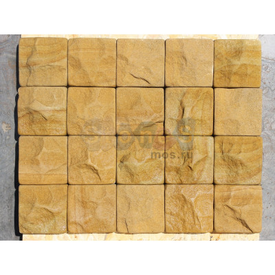 Брусчатка из природного камня песчаника (скол)