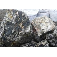 Натуральный камень бутовый мрамор черный