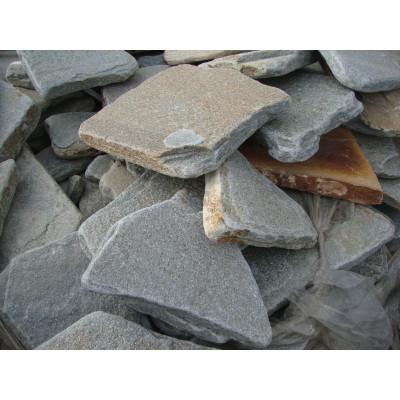 Галтованнный камень Златолит Серо-Голубой