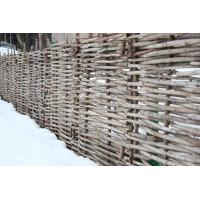 Декоративный забор плетень из орешника 1х2метра