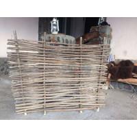Декоративный забор плетень из орешника 1х1метр