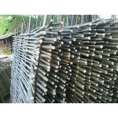 Декоративный забор плетень из орешника 2х2метра