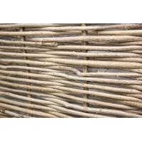 Декоративный забор плетень из орешника 1х0.5 метра