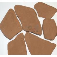 Галтованный камень Песчаник терракотовый красный (обоженный)