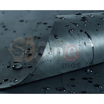 "Бутилкаучуковая пленка мембрана ЭПДМ для пруда ""GISCOLENE"" толщина 0.8мм ширина 10.5 метра"